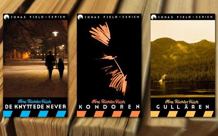 Papirutgaven av den omdiskuterte Jonas Fjeld-serien kommer nå! I begrenset spesialopplag!