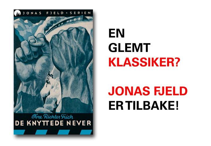 Den 105 år gamle superhelten dr. Jonas Fjeld har fått ny infoside!