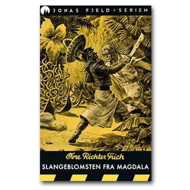 Slangeblomsten fra Magdala! Ny e-bok i Jonas Fjeld-serien i salg nå!