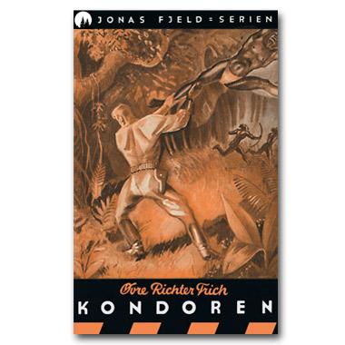 Jonas Fjeld-serien 2 - Kondoren. Restaurert utgave © 2016 Dr Spruce Books