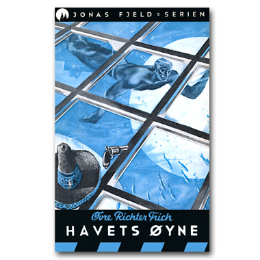 Jonas Fjeld-serien 9 - Havets øyne. Restaurert utgave © 2016 Dr Spruce Books