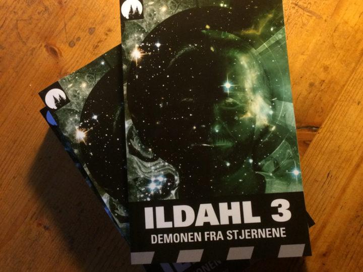 Endelig er den her! ILDAHL 3 – Demonen fra stjernene som paperback