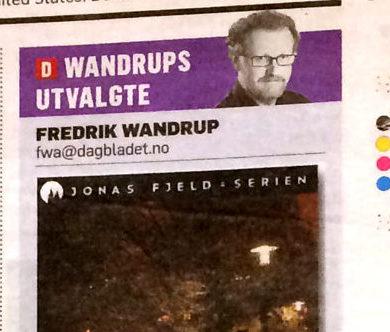 Wandrups utvalgte: Nyutgivelsen av Jonas Fjeld-serien. Noen få eks igjen!