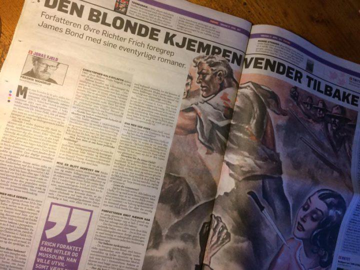 Stor artikkel om nyutgivelsen av Jonas Fjeld-serien i Dagbladet!