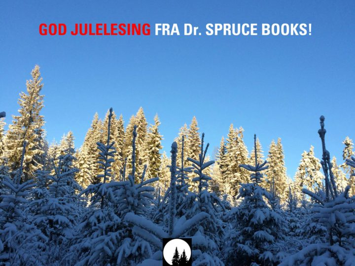 God jul fra Dr. Spruce Books!