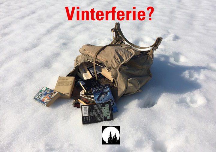 Hvor skal du i vinterferien? Ta med våre lette e-bøker på tur!