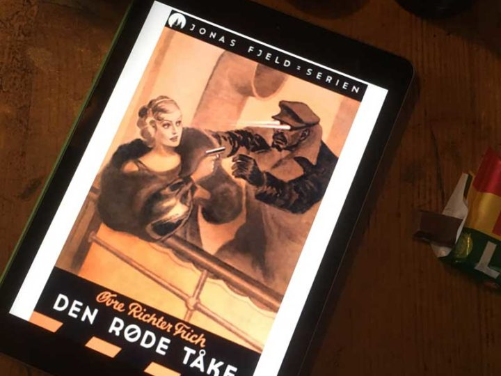 Vinn «Den røde tåke» – En norsk pulpklassiker!