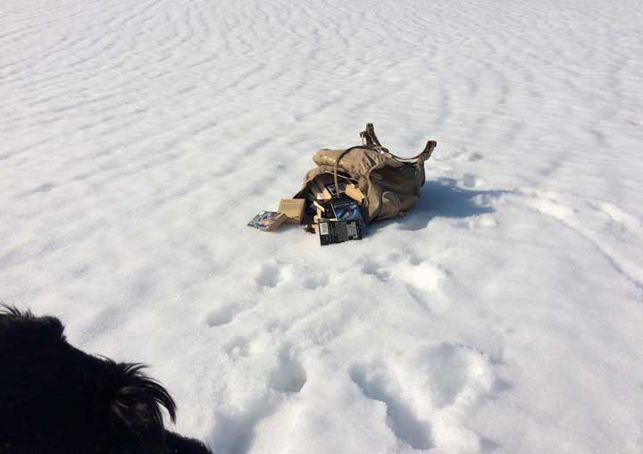 På hytta i vinterferien?