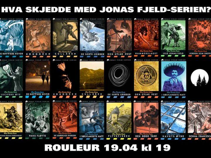 Vi inviterer: Boklansering Jonas Fjeld-serien på Rouleur i Oslo 19. april!