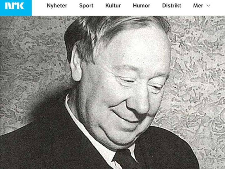 Interessant artikkel på NRK om Øvre Richter Frich
